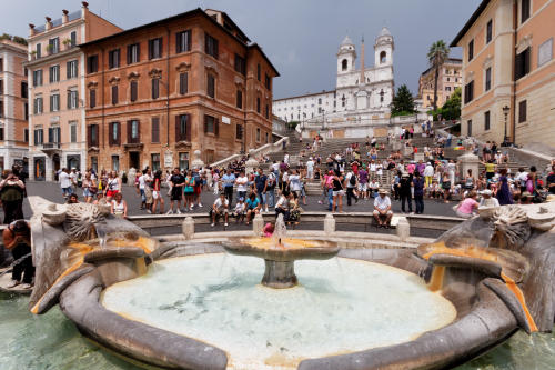 Spanish Steps Wide