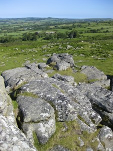 Rocky View of Dartmoor