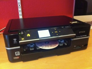 Epson PX720WD CD Printing