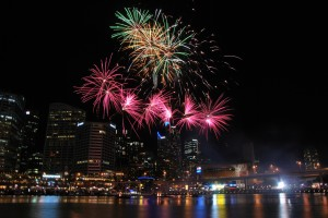 Darling Harbour Fireworks